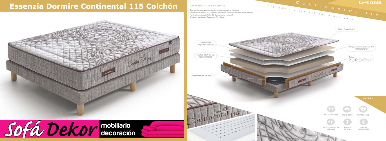 banner_Essenzia Dormire Continental 115 Colchón_sofadekor_colchon_barato_vitoria_gasteiz