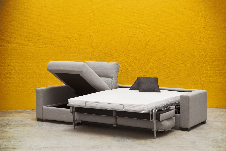 sofa cama chaisselongue abierto
